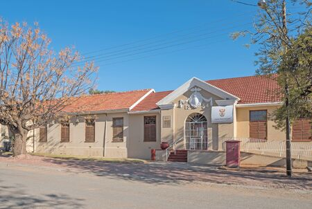 magistrates: HOPETOWN, SOUTH AFRICA - AUGUST 9, 2015: Building of the Magistrates Court in Hopetown in the Northern Cape Province of South Africa Editorial