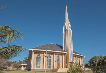 northern cape: The Dutch Reformed Church in Hopetown, a small town on the banks of the Gariep River Orange River in the Northern Cape Province of South Africa