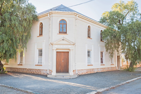 northern cape: The hall of the Dutch Reformed Church in Britstown, a small town in the Northern Cape Karoo region of South Africa