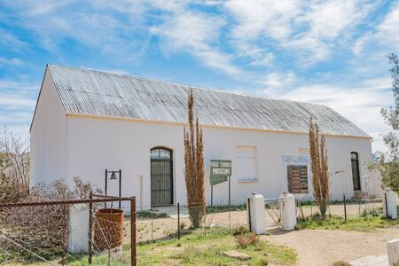 housed: LOERIESFONTEIN, SOUTH AFRICA - AUGUST 11, 2015: The Fred Turner Museum is housed in the historic Baptist Church in Loeriesfontein. The Windmill Museum is on the same premises Editorial