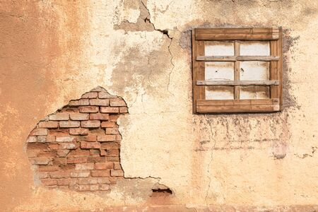 northern african: Decay visible in ruins near Nieuwoudtville in the Northern Cape Province of South Africa Stock Photo