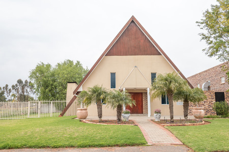 apostolic: The Apostolic Faith Mission Church in Vredendal in the Western Cape Province of South Africa