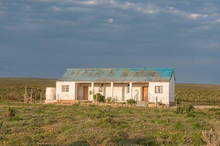 guarder�a: Una guarder�a en Papendorp, un peque�o pueblo en el estuario del r�o Olifants en la costa atl�ntica de �frica del Sur