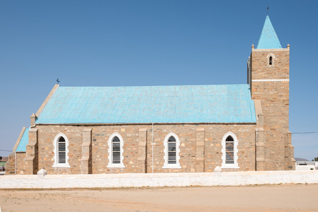 northern african: The United Reformed Church in Concordia, a small mining town in the Northern Cape Namaqualand