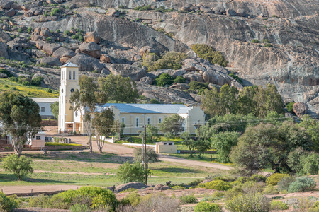 The Catholic cathedral in Rietpoort, a small Nama town near Bitterfontein in the Western Cape Namaqualand, was inaugurated in 1937