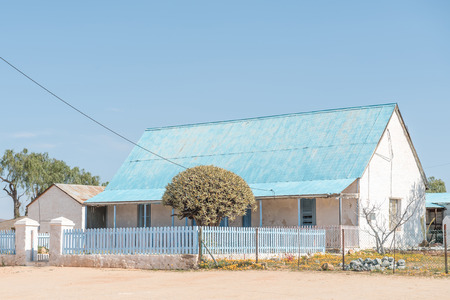 mining town: Parsonage of the United Reformed Church in Concordia, a small mining town in the Northern Cape Namaqualand