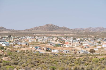 northern cape: CONCORDIA, SOUTH AFRICA - AUGUST 17, 2015: View of Concordia, a small mining town in the Northern Cape Namaqualand