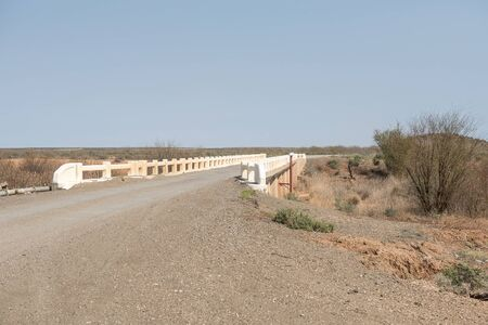 northern cape: A bridge at Brandvlei on the road to Vanwyksvlei in the Northern Cape Province of South Africa