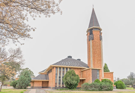 douglas: The Dutch Reformed Church in Douglas, a small town in the Northern Cape Province of South Africa Stock Photo