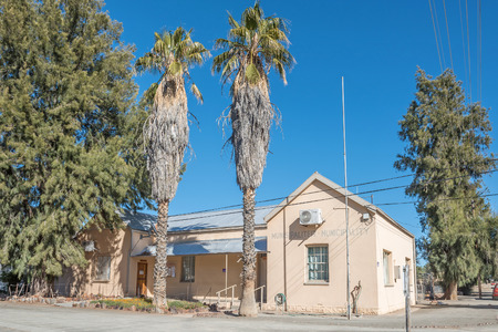 northern african: The municipal offices in Vosburg, a small village in the Northern Cape Karoo region of South Africa.
