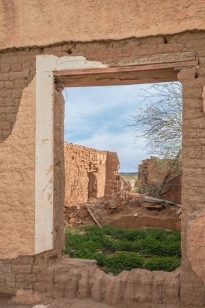 northern african: One of the ruins in an old village near the Gannabos Quiver Tree Forest, the setting of a popular South African TV series, Manakwalanders