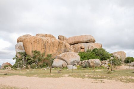 northern african: The Letterklip letter stone at Garies in Namaqualand comprises of huge boulders on top of a hill carrying the names of early Namaqualand travellers. It is claimed that they used it as a post office