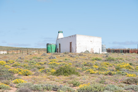 northern cape: A farm house next to the road from Spoegrivier spit river to Klipfontein in the Northern Cape Namaqualand region of South Africa