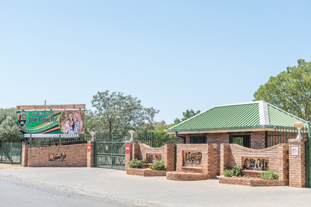 jim: BLOEMFONTEIN, SOUTH AFRICA, NOVEMBER 12, 2015: The Jim Fouche Primary School in Gardenia Park, a suburb of Bloemfontein, the capital of the Free State Province