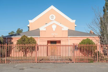 northern african: An historic church in Britstown in the Northern Cape Province of South Africa
