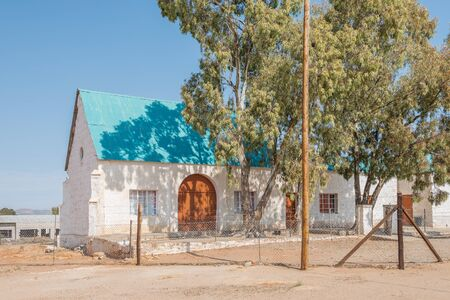 concordia: Historic building at the United Reformed Church in Concordia, a small mining town in the Northern Cape Namaqualand