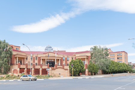 sita: BLOEMFONTEIN, SOUTH AFRICA, DECEMBER 16, 2015: The offices of the State Information Technology Agency SITA in Bloemfontein, the capital city of the Free State Province Editorial