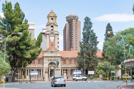 johannes: BLOEMFONTEIN, SOUTH AFRICA, DECEMBER 16, 2015: The National Afrikaans and Sotho Literary Museum in Bloemfontein was originally a government building of the Republic of the Orange Free State