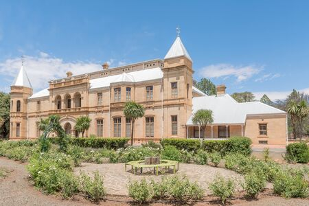 presidency: BLOEMFONTEIN, SOUTH AFRICA, DECEMBER 16, 2015: The historic Presidency in Bloemfontein, the residence of the presidents of the Orange Free State Republic, now a museum