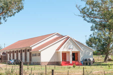thornhill: THORNHILL, SOUTH AFRICA - FEBRUARY 28, 2016:  A community hall in Thornhill near Port Elizabeth