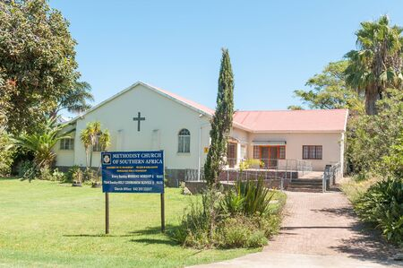 methodist: HUMANSDORP, SOUTH AFRICA - FEBRUARY 28, 2016:  The Methodist Church in Humansdorp in the Eastern Cape Province Editorial