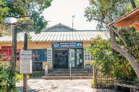 natures: NATURES VALLEY, SOUTH AFRICA - MARCH 2, 2016: The only supermarket in the small town of Natures Valley