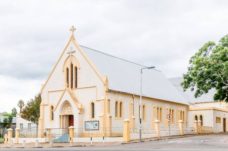 congregational: UITENHAGE, SOUTH AFRICA - MARCH 7, 2016:  The United Congregational Church in Uitenhage was built in 1884