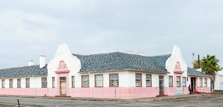 magistrates: MIDDELBURG, SOUTH AFRICA - MARCH 8, 2016: The Magistrates Offices in Middelburg in the Eastern Cape Karoo Region