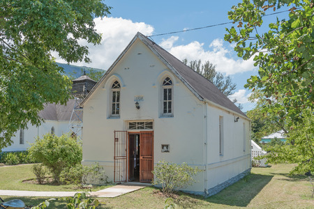 somerset: The All Saints United Church in Somerset East, a small town on the Blue Crane Route in the Eastern Cape Province