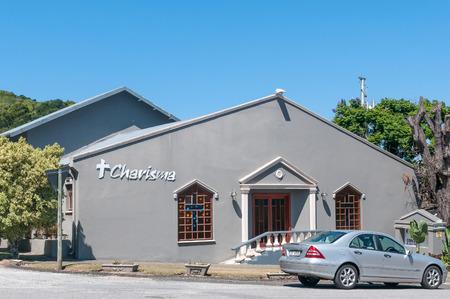charisma: KNYSNA, SOUTH AFRICA - MARCH 3, 2016: The Charisma Church in Knysna, a coastal town on the Garden Route Editorial