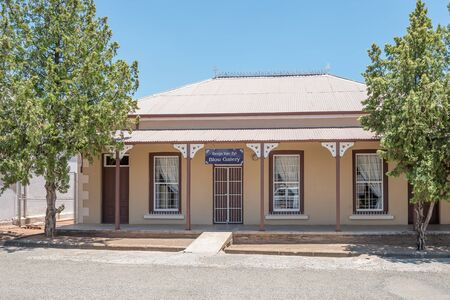 FAURESMITH, SOUTH AFRICA - DECEMBER 31, 2016: An historic old house in Fauresmith, a small town in the Free State Province of South Africa