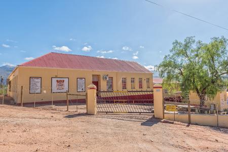 ZOAR, SOUTH AFRICA - MARCH 25, 2017: A primary school in Zoar, a village in the Western Cape Province Stok Fotoğraf - 76811921