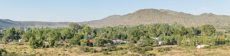 bethesda: A panoramic view of Nieu-Bethesda, an historic village in the Eastern Cape Province