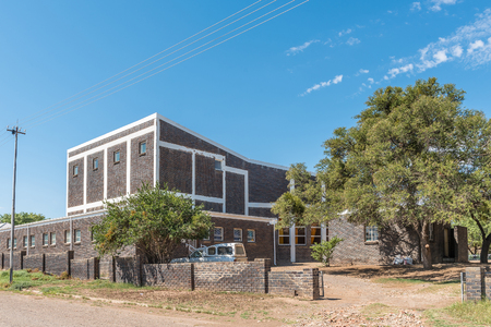 noon: The hall of the Dutch Reformed Church in Willowmore, a small town in the Eastern Cape Province