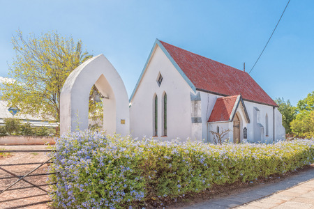 LADISMITH, SOUTH AFRICA - MARCH 25, 2017: The St Lukes Anglican Church in Ladismith, a small town in the Western Cape Province Editorial