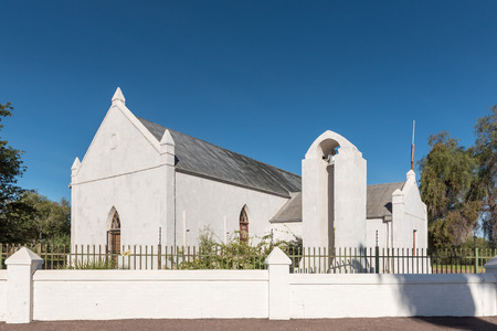 UPINGTON, SOUTH AFRICA - JUNE 11, 2017: The Kalahari-Oranje Museum is housed in the buildings built by the Reverend Schröder in 1875 as a church and mission station Editorial