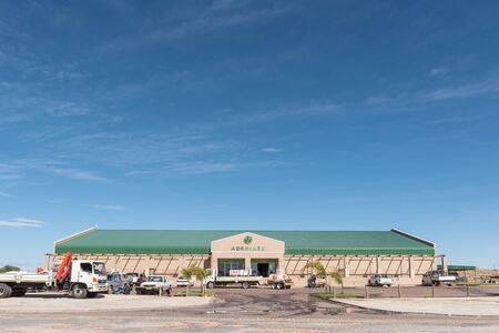 KAKAMAS, SOUTH AFRICA - JUNE 12, 2017: Agrimark, an agricalture retail warehouse in Kakamas in the Northern Cape Province