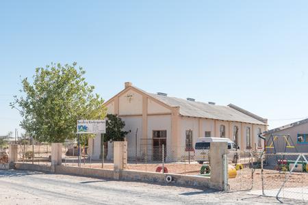 KARIBIB, NAMIBIA - JULY 3, 2017: A creche in Karibib, a small town in the Erongo Region of Namibia Editorial