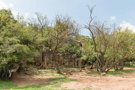 A camping site in the Koranna Mountain near Excelsior in the Free State Province of South Africa