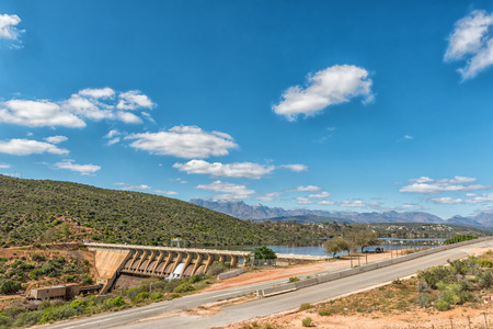 The Clanwilliam Dam near Clanwilliam in the Western Cape Province