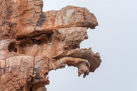Rock formations at Truitjieskraal in the Cederberg Mountains of the Western Cape Province