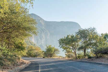 The road to the Blyderivierspoort Dam in the Blyde River Canyon
