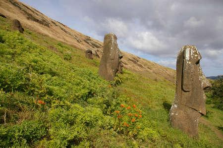 rano raraku: Easter Island - Rano Raraku