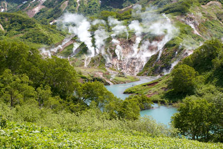 geysers: Geysers, volcano