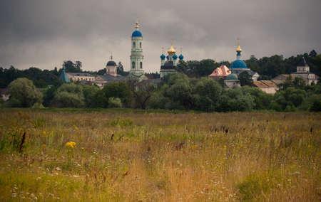 priory: Kozelsk  Optino , Optina pustyn monastery, monastery wall
