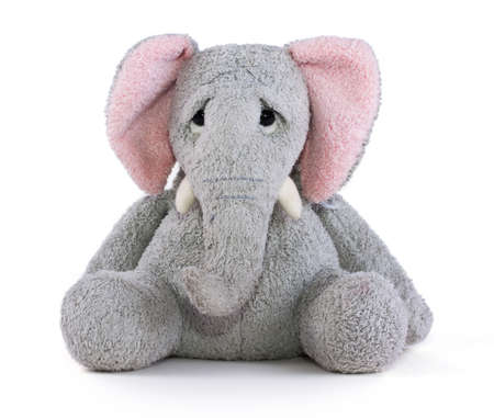 soft toy: Sad elephant soft toy