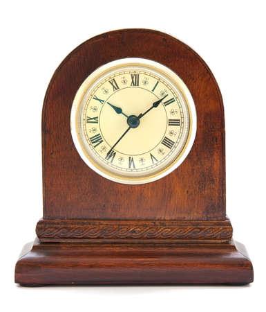 Antiguo reloj con n�meros romanos Foto de archivo - 9884485