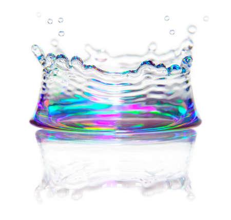 Splash de l'eau
