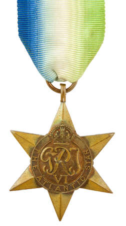 The Atlantic Star Second World War Medal photo