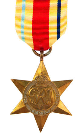 The Africa Star Second World War Medal Stock Photo - 12812461